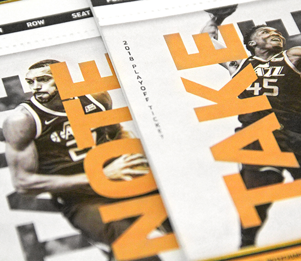 2018 Jazz Playoff Tickets