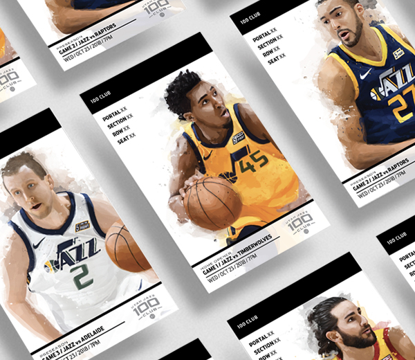 Utah Jazz – 1819 Season Tickets